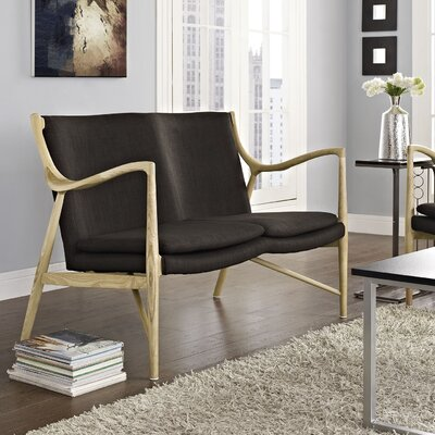 Temporary Loveseat by Modway