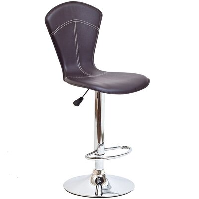 Modway Cobra Adjustable Height Swivel Bar Stool with Cushion