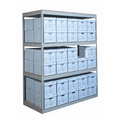 Hallowell Record Storage Decking 4 Shelving Unit Add-on