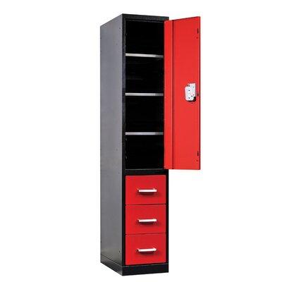 Hallowell Fort Knox 1 Tier 1 Wide Utility Storage Locker