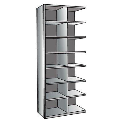 "Hallowell Hi-Tech Bin 87"" H 7 Shelf Shelving Unit Add-on"