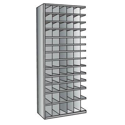 "Hallowell Hi-Tech Bin 87"" H 13 Shelf Shelving Unit Add-on"