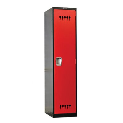 Hallowell Fort Knox 1 Tier 1 Wide Utility Storage Locker