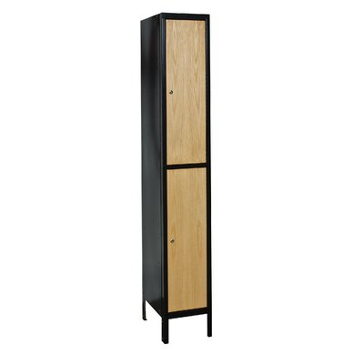 Hallowell Hybrid 2 Tier 1 Wide Contemporary Locker