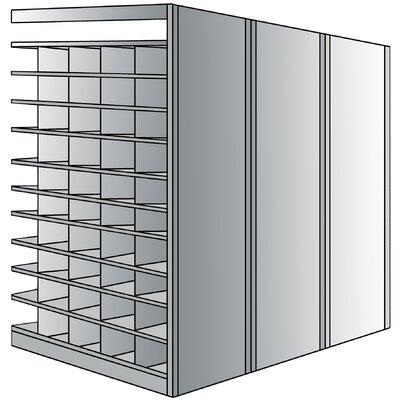 "Hallowell Deep Bin 87"" H 11 Shelf Shelving Unit Add-on"