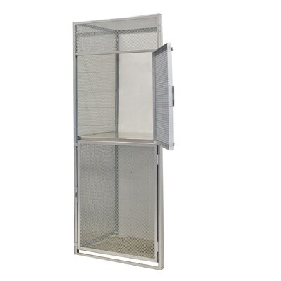 Hallowell 2 Tier 1 Wide Bulk Storage Add On Unit Locker
