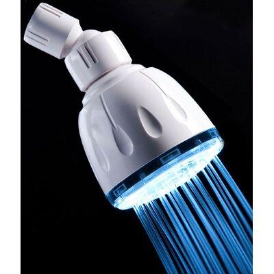 Single Color Fixed LED Illuminated Shower Head Product Photo