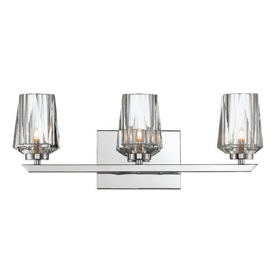 Ginsu 3 Light Bath Vanity Light Product Photo