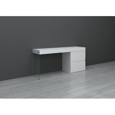 Casabianca Furniture II Vetro Computer Desk