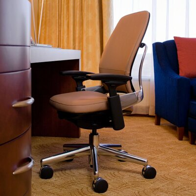 Leap® Leather Office Chair by Steelcase
