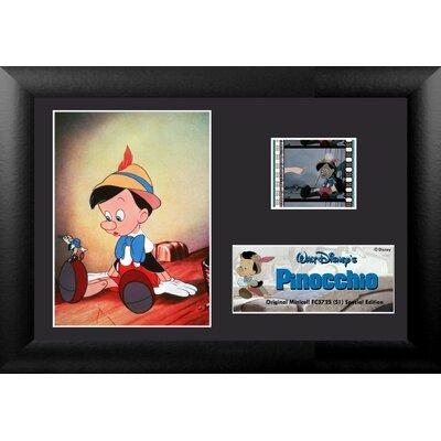 Trend Setters Pinocchio Mini FilmCell Presentation Framed Memorabilia