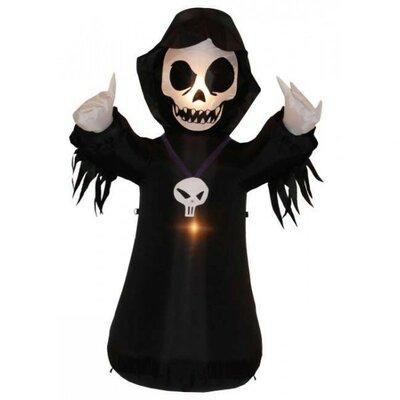 BZB Goods Halloween Inflatable Grim Reaper Decoration
