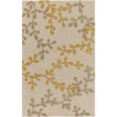 Venus Audrey Hand Tufted Beige/Gold Area Rug by Artistic Weavers