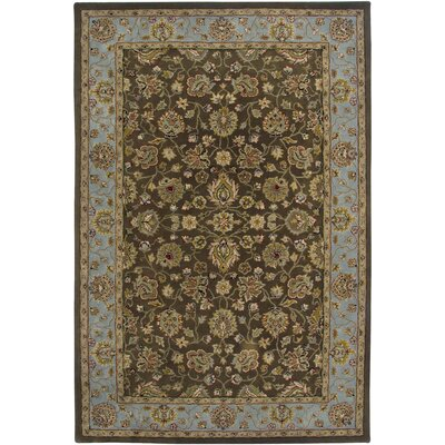 AMER Rugs Innocent Design Brown, Hand-Tufted Rug