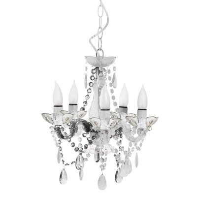 5 Light Mini Chandelier Product Photo