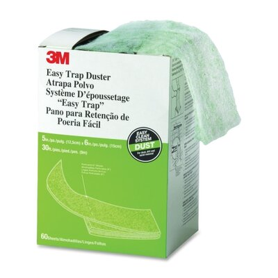 """3M Easy Trap Duster, 8"""" X 30 Ft., 60 Sheets/Box"""