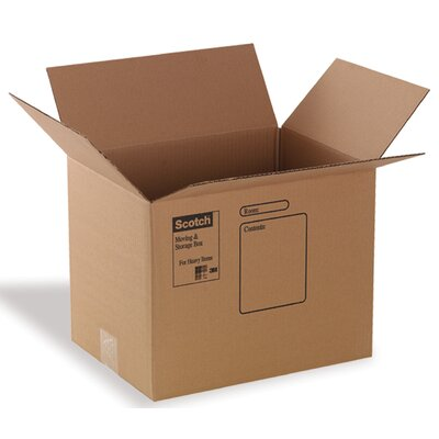 "3M 18"" x 18"" x 16"" Moving Box"
