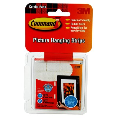 3M Command Picture Hanging Strip Combo Pack