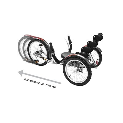Mobo Shift - The World's First Reversible Three Wheeled Cruiser (Adult)