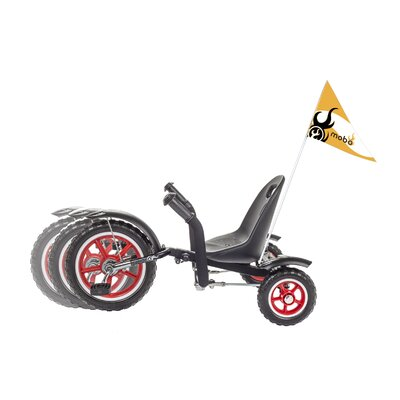 Tot Rockabilly: A Toddler's Ergonomic Three Wheeled Pedal Ride-On by Mobo