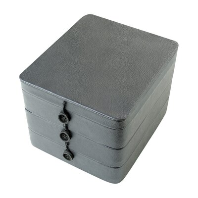 3 Tier Storage Box with Buttons by Neatnix
