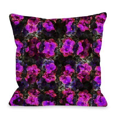 Hibiscus Throw Pillow by One Bella Casa