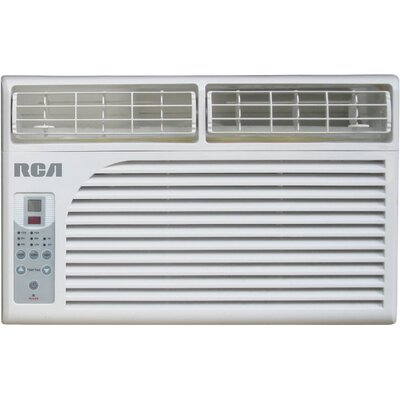 6000 BTU Window Mounted Air Conditioner with Remote Product Photo