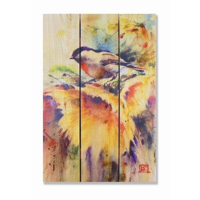 Signature 1 Sunny Day Full Color Cedar Wall Art by Gizaun Art
