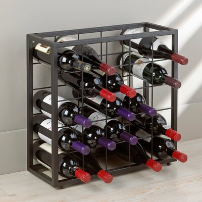 Table Top 25 Bottle Stackable Wine Rack by Wine Enthusiast Companies