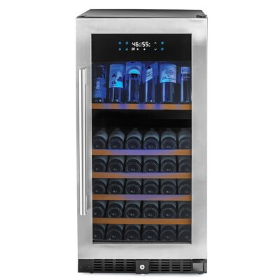 N'Finity Pro 94 Bottle Dual Zone Built-In Wine Refrigerator by Wine Enthusiast Companies