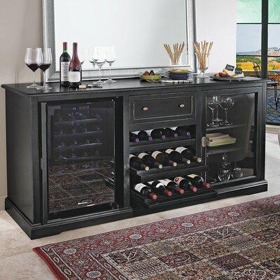 Siena 28 Bottle Dual Zone Freestanding Wine Refrigerator by Wine Enthusiast Companies