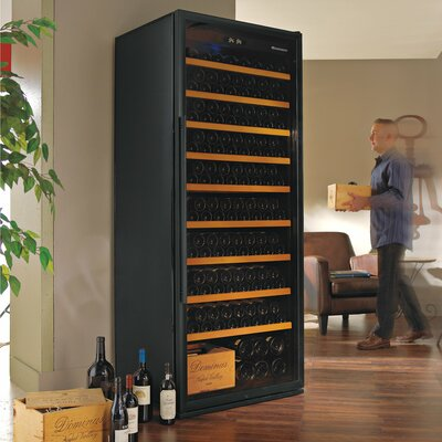 Wine Enthusiast Giant 300 Bottle Single Zone Freestanding Wine Refrigerator