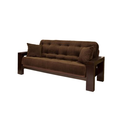 Big Tree Furniture ReFlex Support Series Soho Full Futon and Mattress