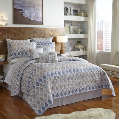 Shell Rummel Hour Glass Quilt by WestPoint Home