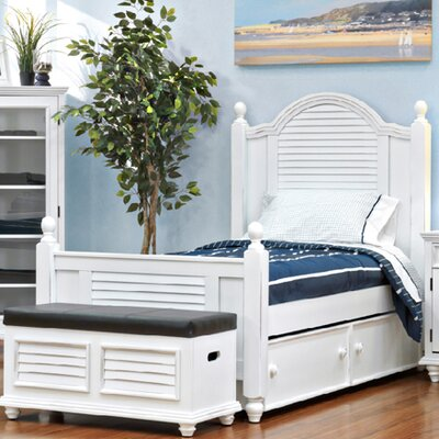 John Boyd Designs Outer Banks Panel Bed