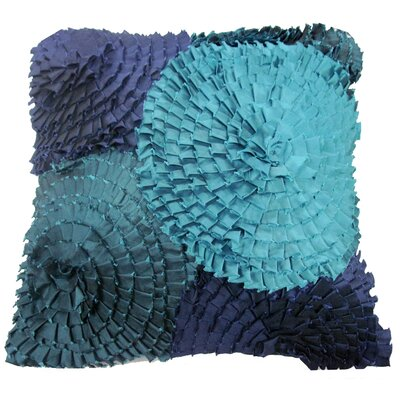 Ruffles Throw Pillow by Divine Designs