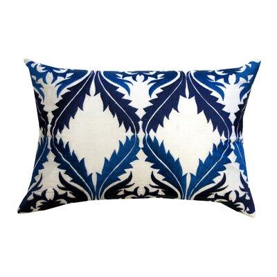 Divine Designs Vibrant Vines Cotton Lumbar Pillow