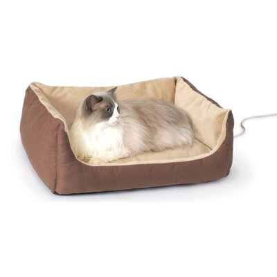 K&H Manufacturing Snuggly Heated Cat Bed