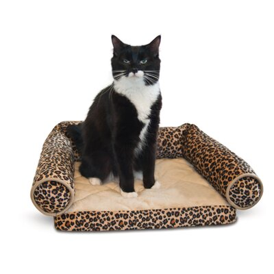 Lazy Leopard Pet Lounger by K&H Manufacturing