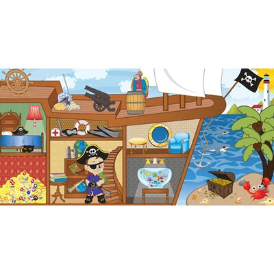 Mona Melisa Designs Pirate Boy Hanging Wall Mural