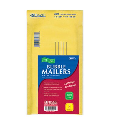 Bazic Self-Seal Bubble Mailers