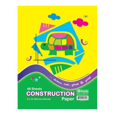 Bazic Construction Paper