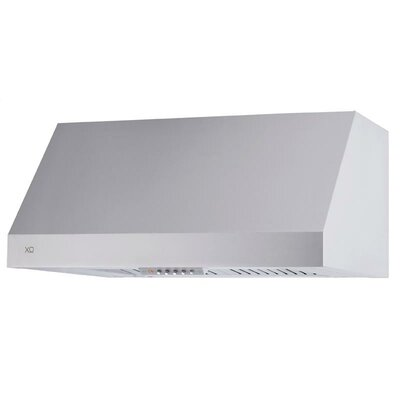 "48"" 1000 CFM Professional Wall Hood in Stainless Steel Product Photo"