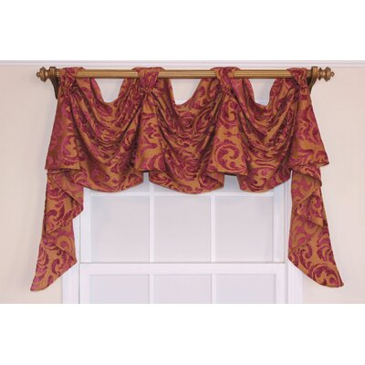 "Metropole Chenille Victory Swag 54"" Curtain Valance Product Photo"