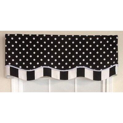 "Dotty Glory 50"" Curtain Valance Product Photo"