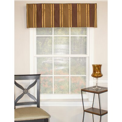 Euro Stripe Straight Curtain Valance Product Photo