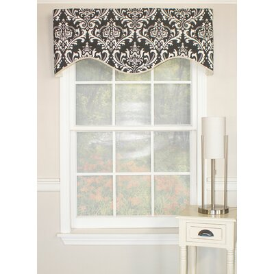 "Royal Damask Cornice 50"" Curtain Valance Product Photo"