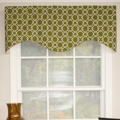 """Lateral Cornice 50"""" Curtain Valance Product Photo"""