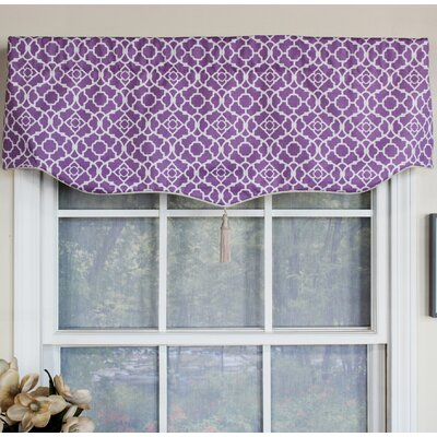 "Lattice Romeo 50"" Curtain Valance Product Photo"