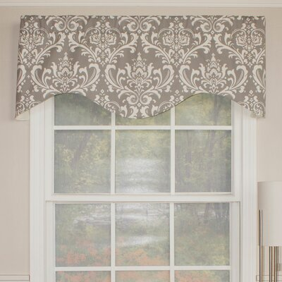 "Royal Damask Cornice 50"" Curtain Valance Product Photo"